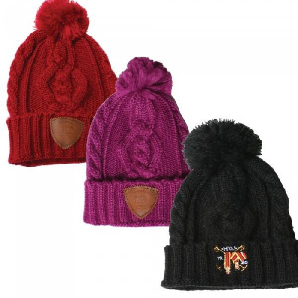 Horseware Knitted Bobble Hat
