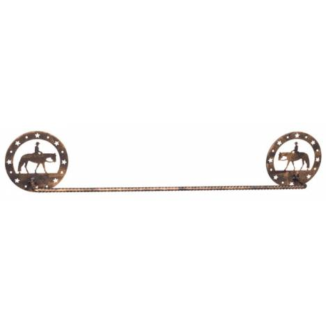 Gift Corral Towel Bar - Western Pleasure