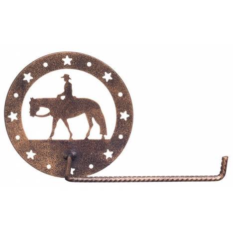 Gift Corral Toilet Paper Holder - Western Pleasure
