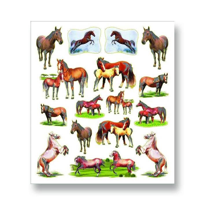 Mare and Foal Stickers