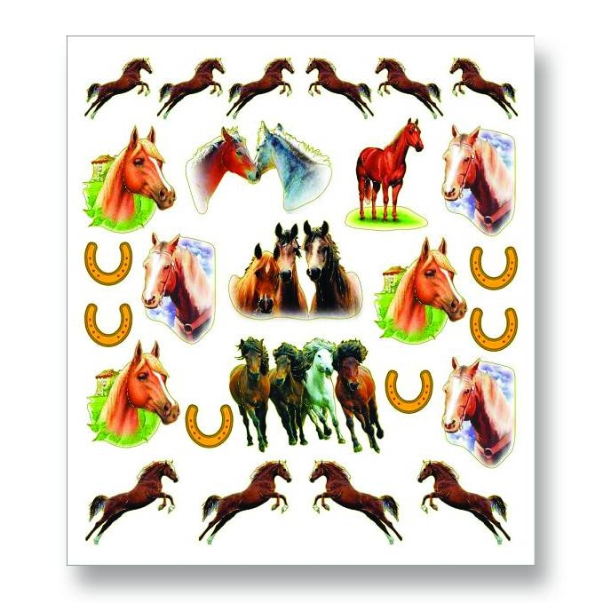 Leaping Pony & Herd Stickers