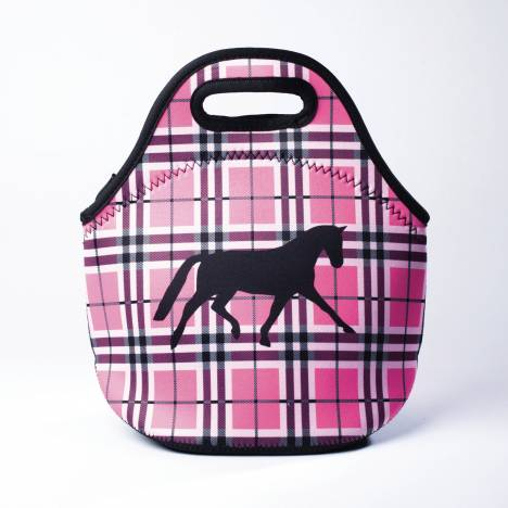 Tek Trek Neoprene Lunch Tote Plaid