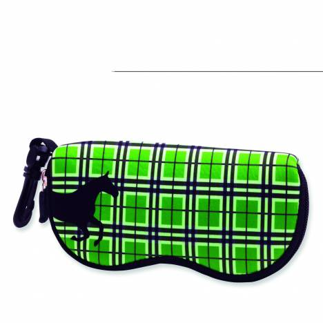 Tek Trek Neoprene Plaid Sunglass Case