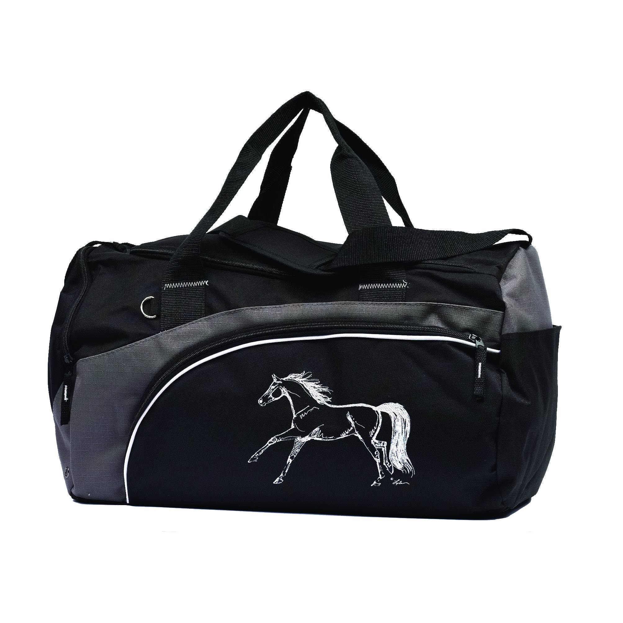 Duffle Bag with Horse