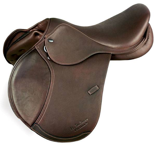 M. Toulouse Laura B Platinum Double Leather Saddle - Wool