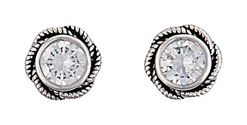 Montana Silversmiths Forever Cowgirl Post Earrings