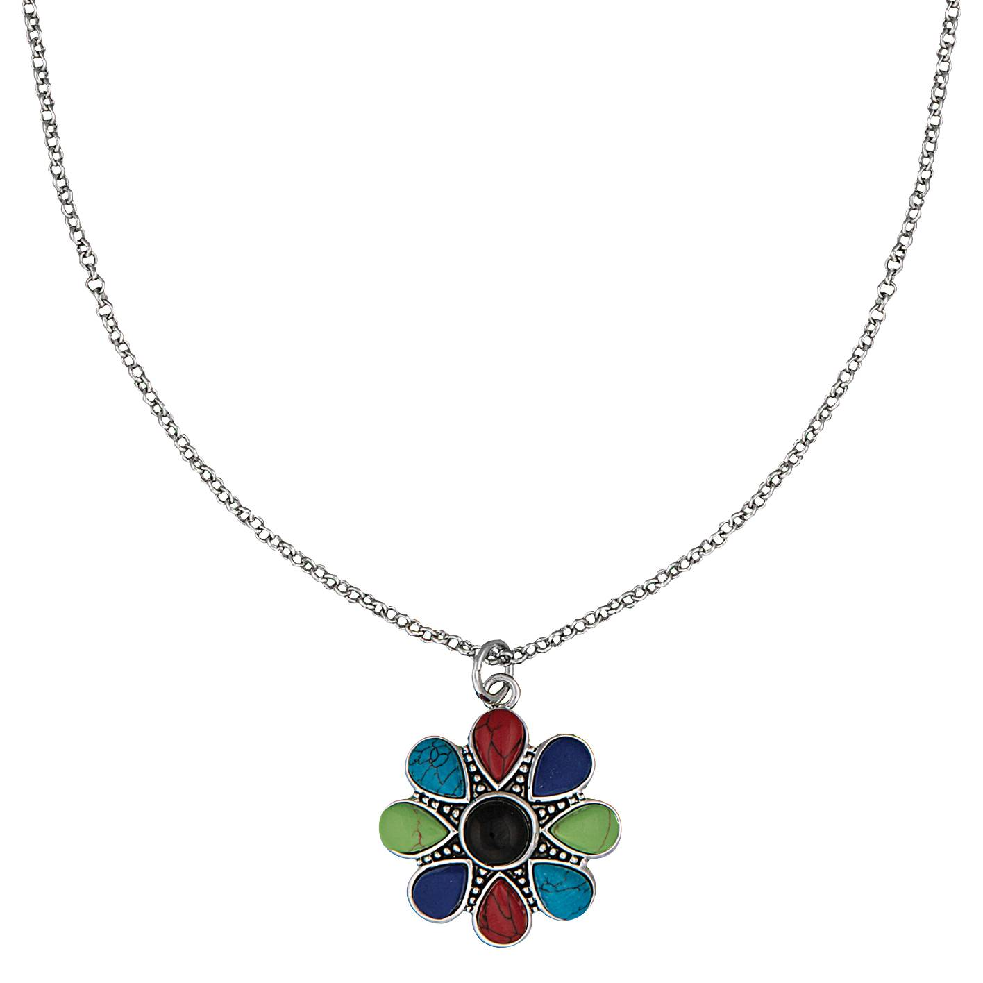 Montana Silversmiths Canyon Colors Concho Necklace