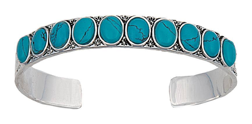 Montana Silversmiths Canyon Colors Cuff Bracelet