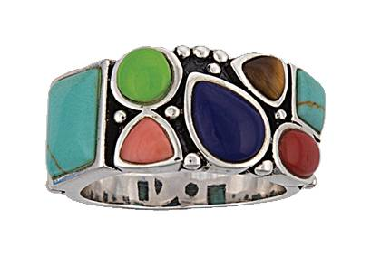 Montana Silversmiths Canyon Treasures Stone And Silver Ring