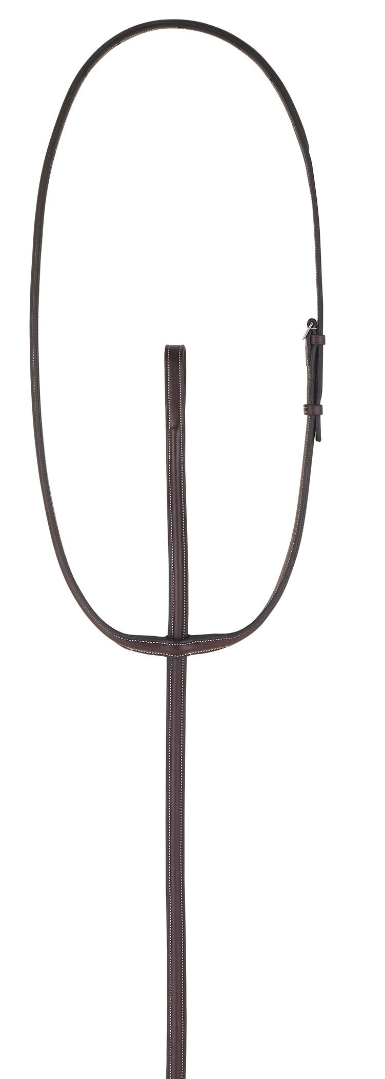 Camelot Gold Plain Raised Standing Martingale