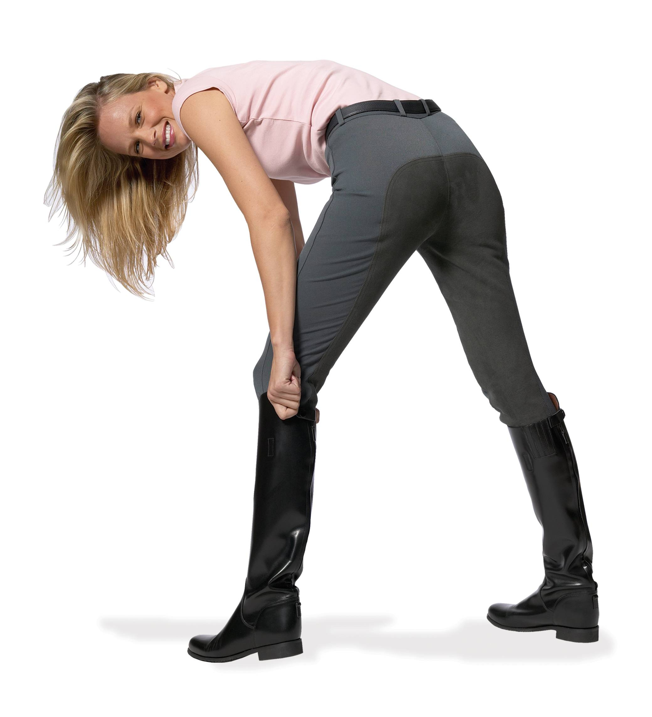 Ovation Ladies Full-Seat Euroweave DX Breech