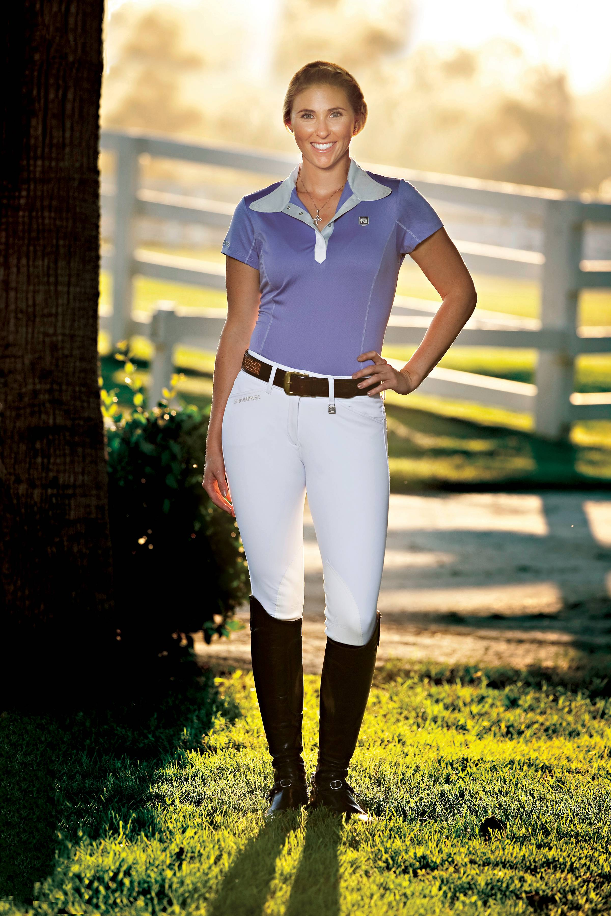 Romfh Ladies Sarafina Euroseat Breeches