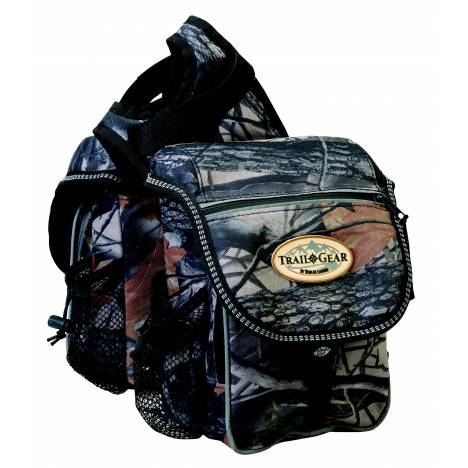 Weaver Leather Trail Gear Pommel Bag, Camo