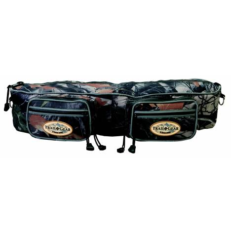 Weaver Leather Trail Gear Cantle Bag, Camo