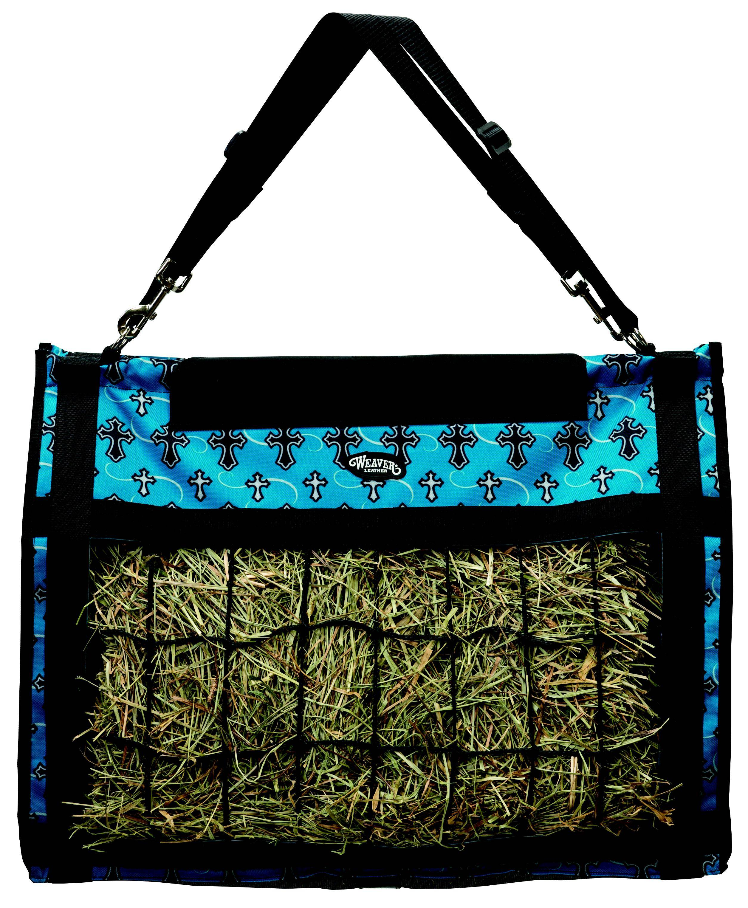 Weaver Leather Slow Feed Hay Bag - Crosses