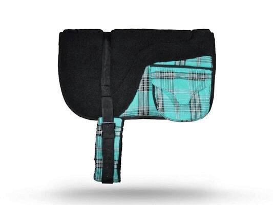 Kensington Fleece Bareback Pad with Pockets