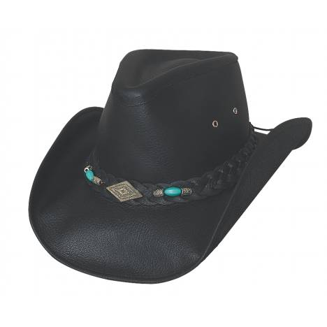 Bullhide Royston Down Under Collection Leather Hat