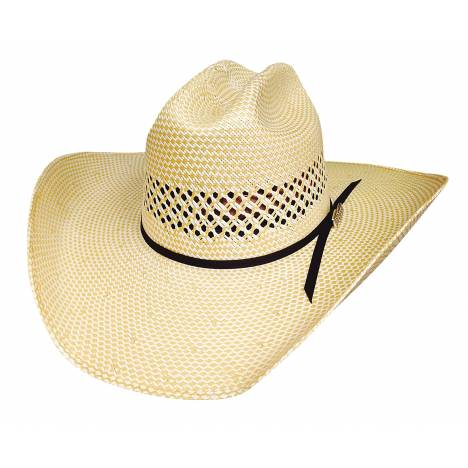 Bullhide Lettin' The Night Roll 100X Hat Justin Moore Collection