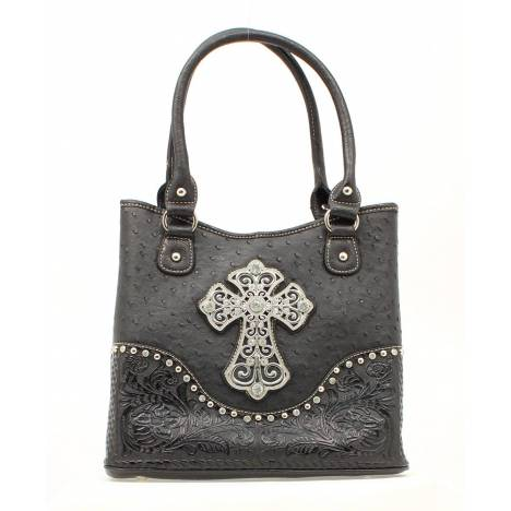 Blazin Roxx Ostrich Cross Shoulder Bag