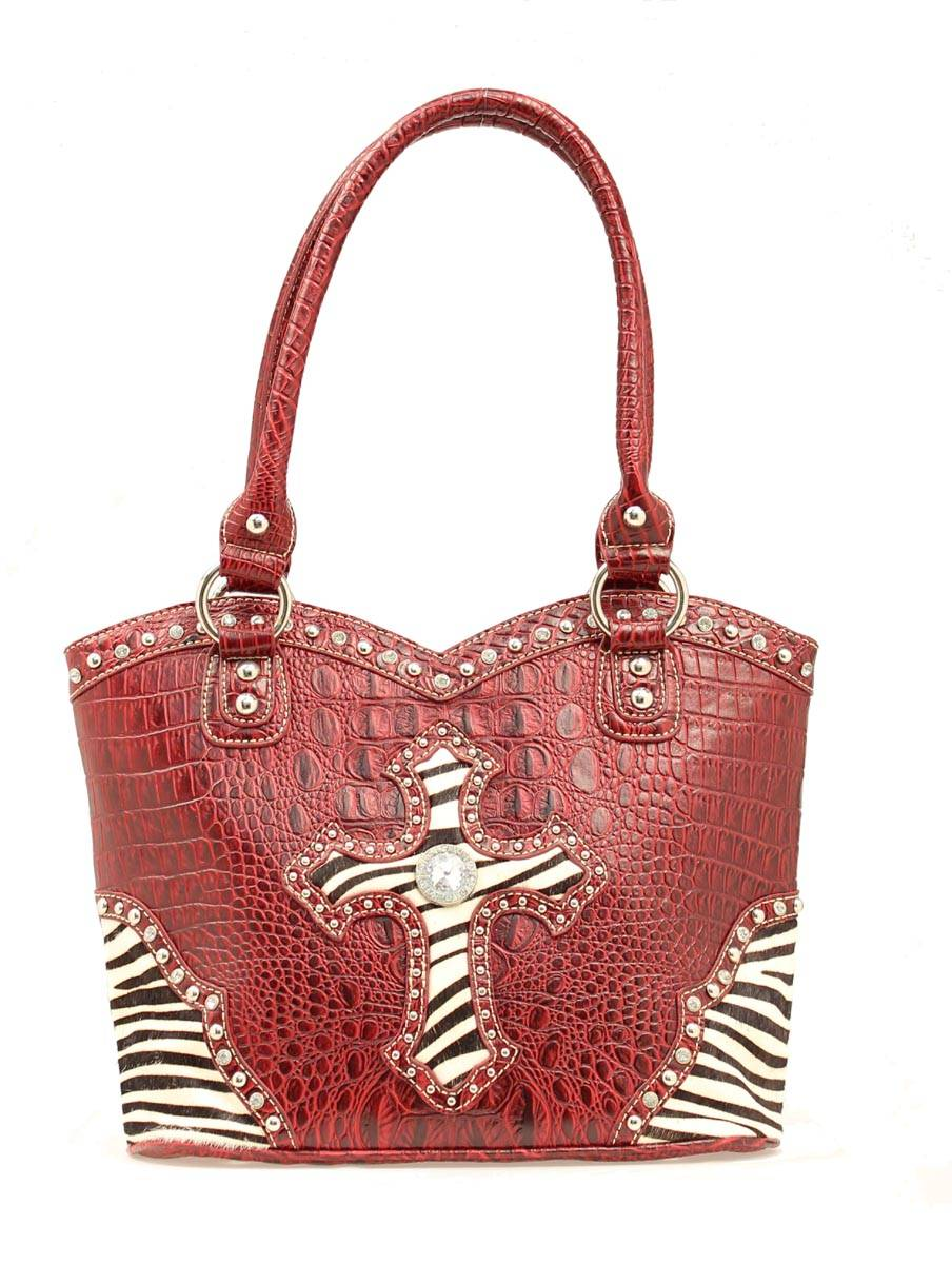 Blazin Roxx Zebra Cross Bucket Bag