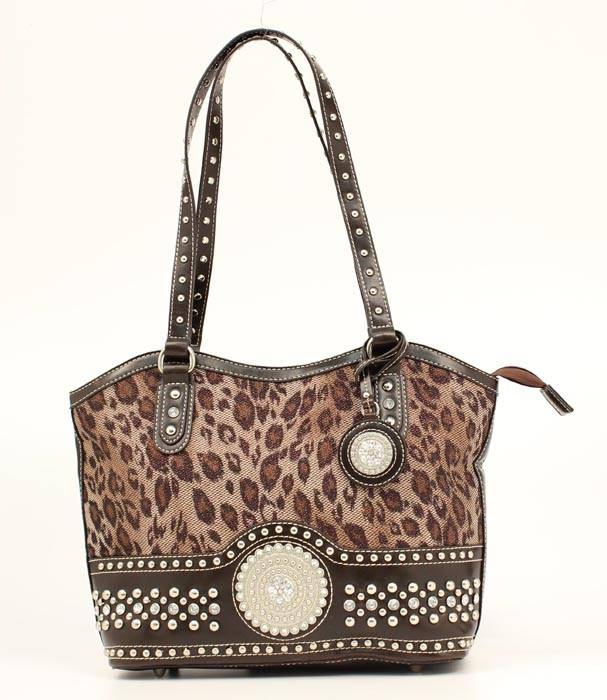Blazin Roxx Round Concho Shoulder Bag