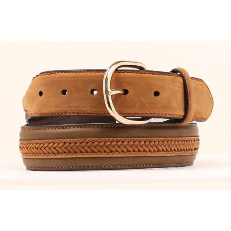 Nocona Center Lacing Mens Belt