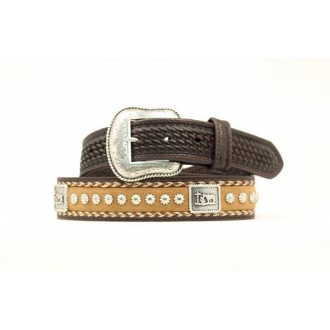 Nocona Mens Cowboy Prayer Concho Belt