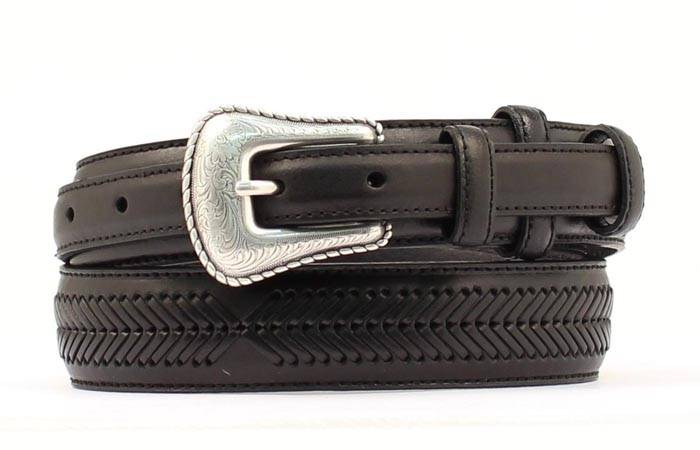 Nocona Men's Top Hand Ranger Arrow Lace Belt