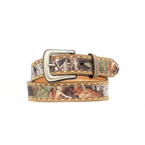 Nocona Mens Overlay Breakup Belt with Stitching