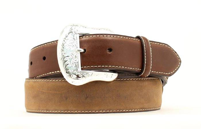 Nocona Men's Top Hand Two Tone Belt