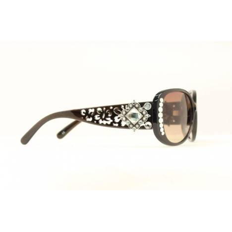 Blazin Roxx Cutout with Diamond Crystal Sunglasses