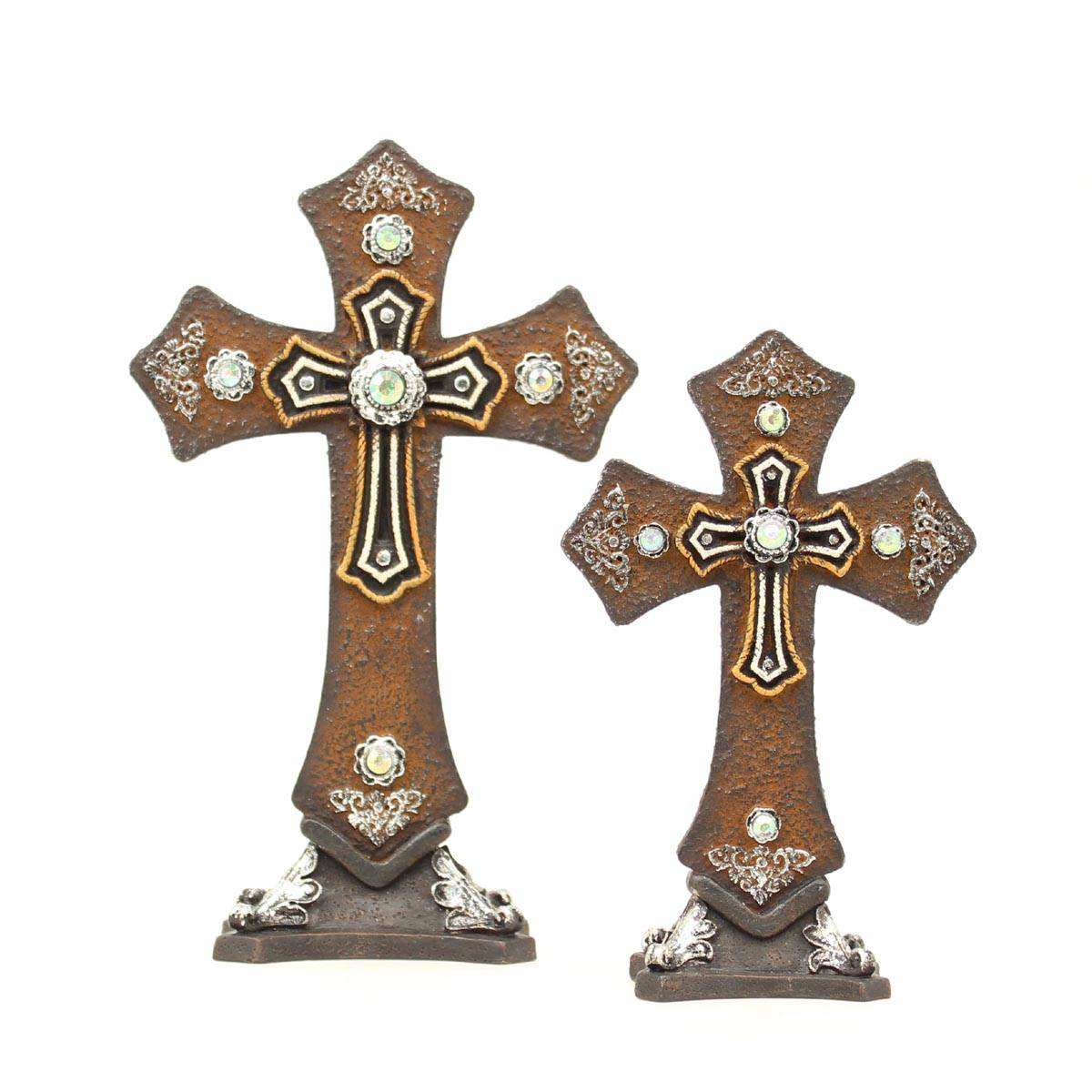 Western Moments Table Cross Set