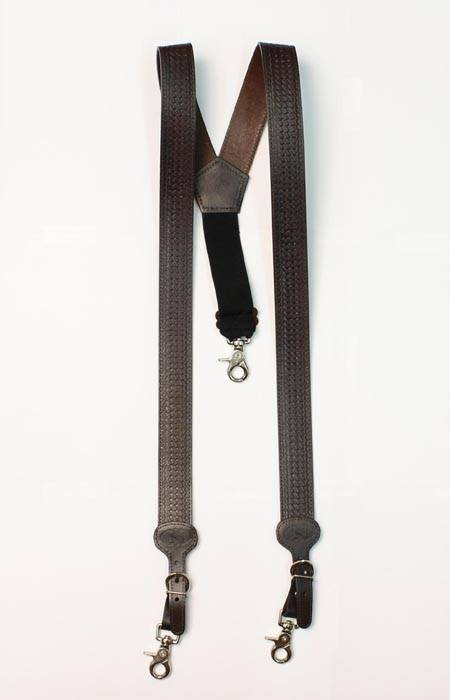 Nocona Basketweave Suspenders