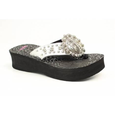 Blazin Roxx Angel Ladies Flip Flops