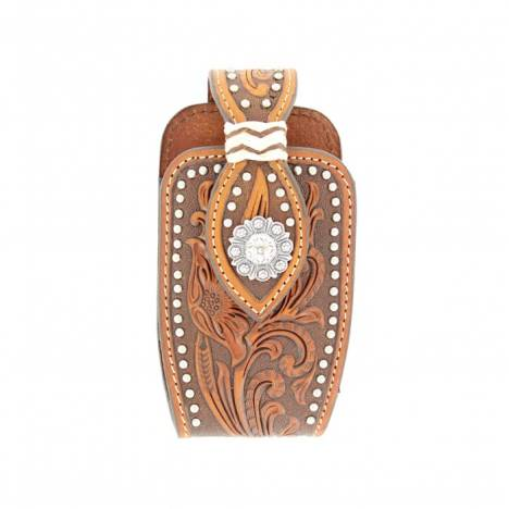 Nocona Floral Tooled Blackberry/PDA Case