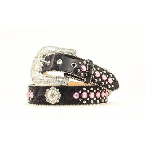 Blazin Roxx Ladies Berry Concho and Rhinestone Belt
