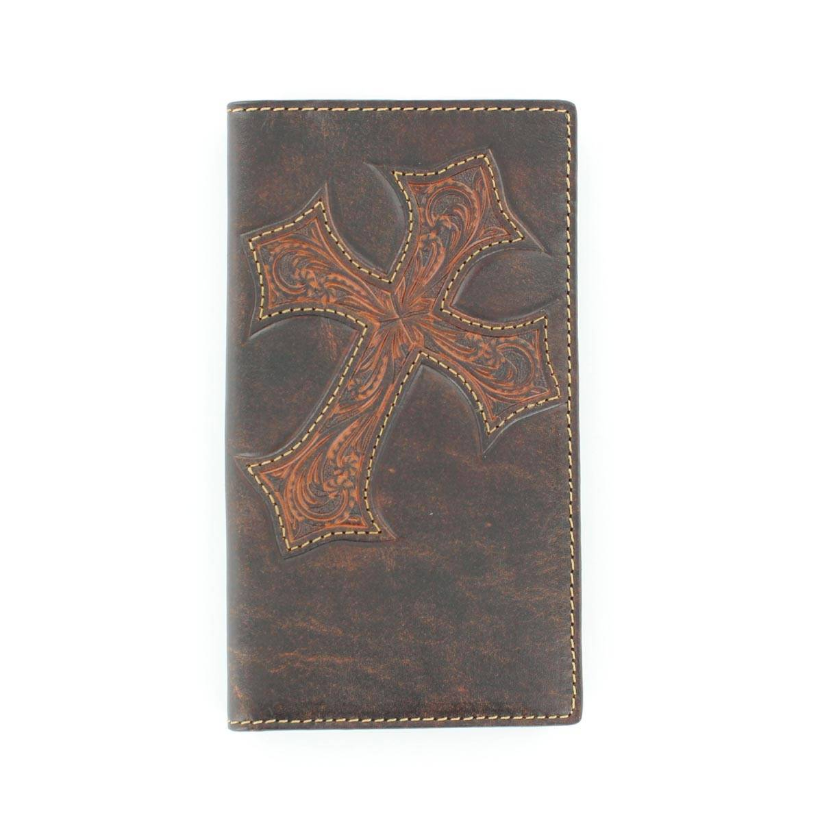 Nocona Mens Rodeo with Diagonal Cross