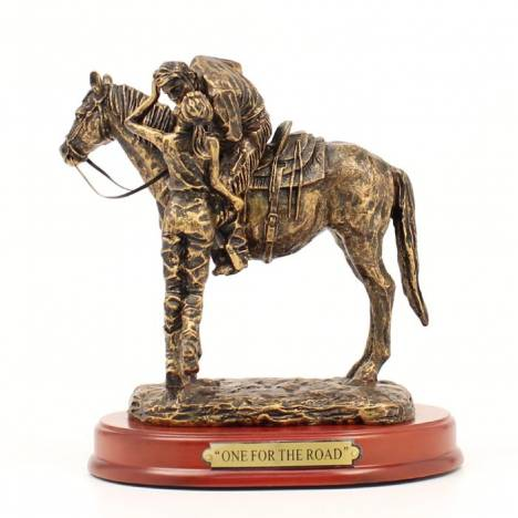 Western Moments One Fo rThe Road Statue