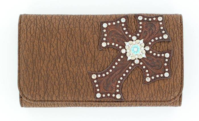 Blazin Roxx Diagonal Cross Wallet