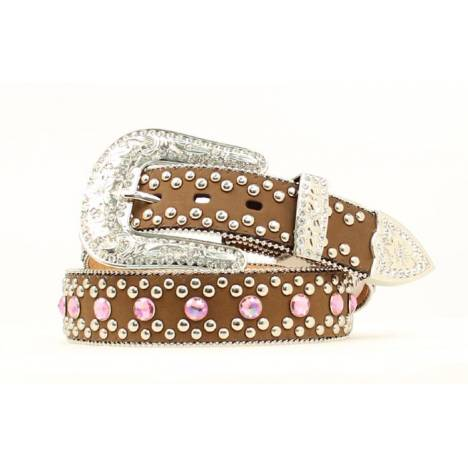 Blazin Roxx Ladies Crystal Bling Belt