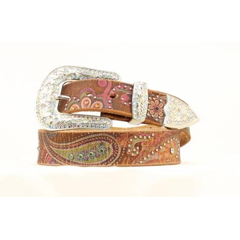 Nocona Ladies Paisley Scrolled Print Belt