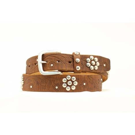 Nocona Ladies Flower Emblem Belt