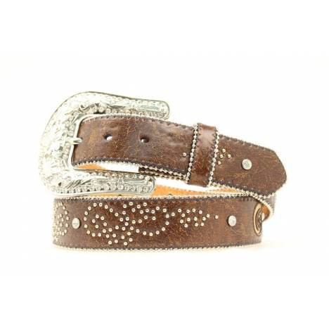 Nocona Ladies Fleur De Li Design Belt