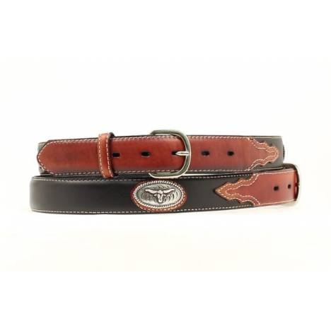 Nocona Boys Steerhead Concho Belt