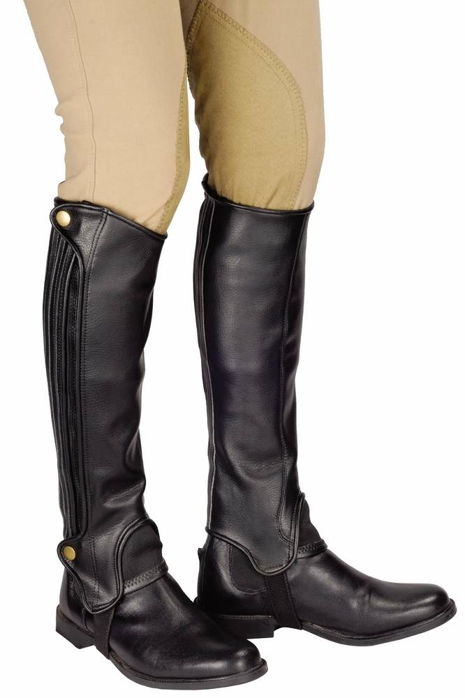 TuffRider Grippy Grain Half Chaps Adult's - Tall