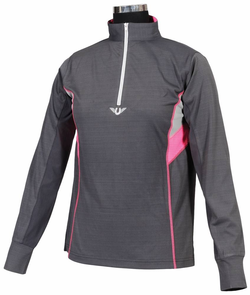 TuffRider Ladies' Neon Ventilated Polo Shirt