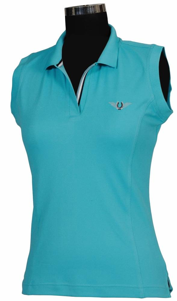 TuffRider Ladies Sleeveless Tech Polo