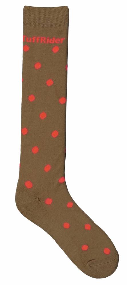 TuffRider Ladies Polka-Dot Socks