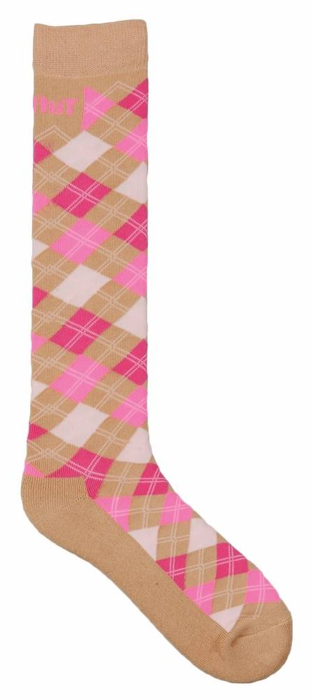TuffRider Ladies' Neon Argyle Socks