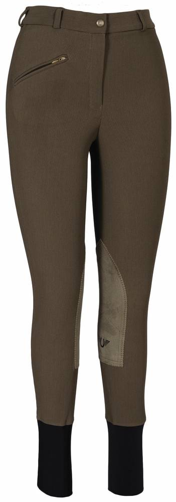 TuffRider Ladies' Ribb Knee Patch with CS2 Bottom
